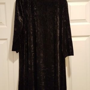 XL Simply Vera Wang crunched velvet dress